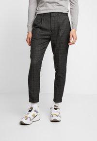 Piazza Italia - PANTALONE - Trousers - grigio - 0