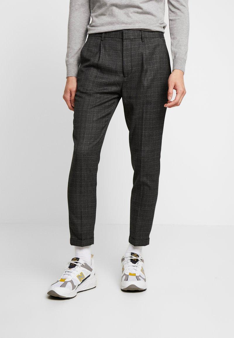Piazza Italia - PANTALONE - Trousers - grigio