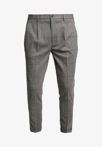 Piazza Italia - PANTALONE SLIM FIT - Trousers - grigio - 4