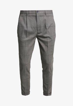 PANTALONE SLIM FIT - Tygbyxor - grigio