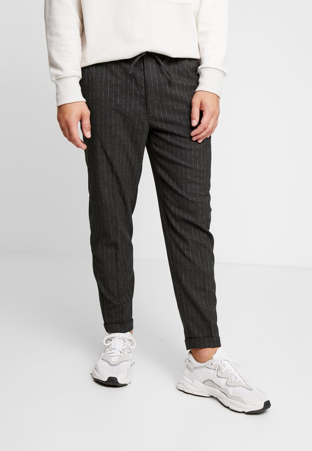 PANTALONE - Bukser - mottled dark grey