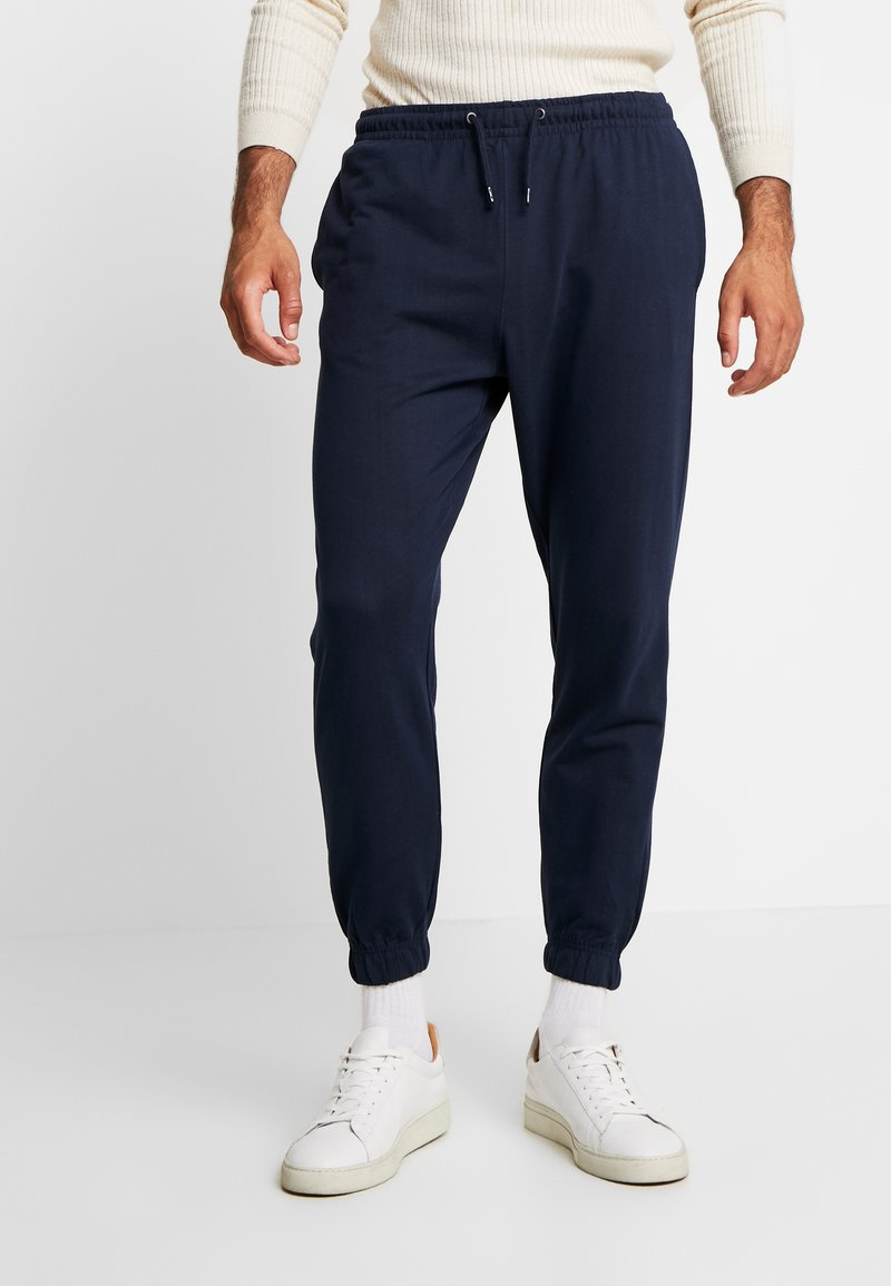 Piazza Italia - PANTA FITNESS - Tracksuit bottoms - blue