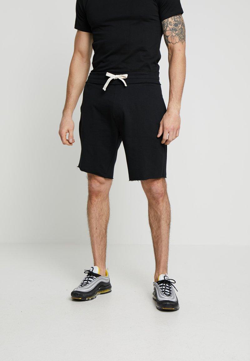 Piazza Italia - FELC - Teplákové kalhoty - black