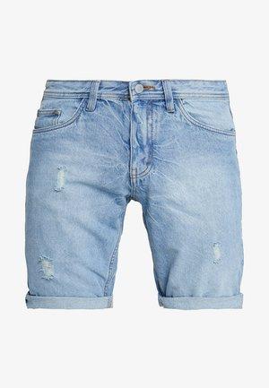 DENU - Shorts di jeans - light blue denim