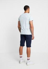 Piazza Italia - LACCIUO - Shorts - blue - 2