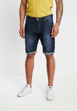 Denim shorts - scuro