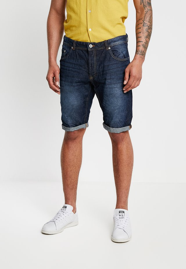 Jeansshorts - scuro