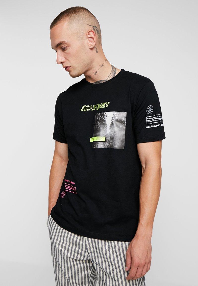 Piazza Italia - T-shirts print - black