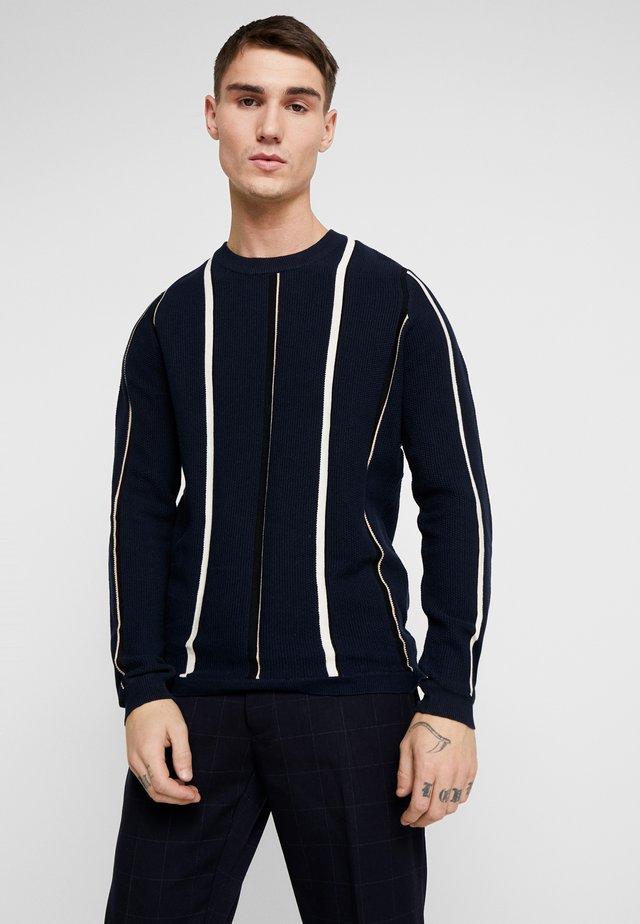 MAGLIA - Stickad tröja - blue
