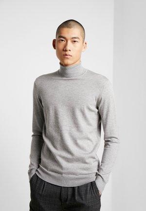 MAGLIA SLIM FIT - Stickad tröja - grey