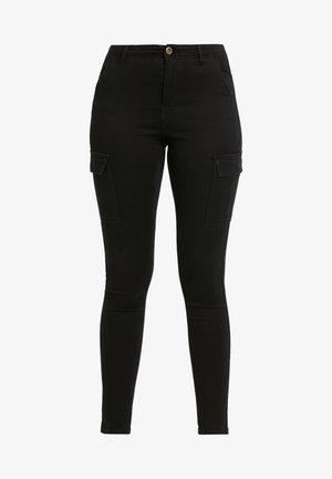 PCJANNICA - Jeans Skinny Fit - black