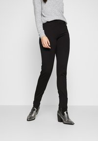 PIECES Tall - PCKLARA SLIM PANT - Broek - black - 0