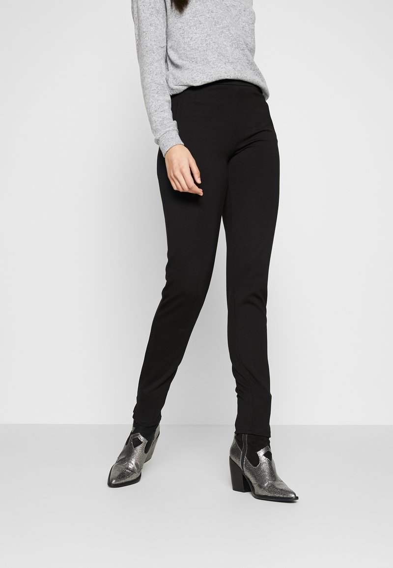 PIECES Tall - PCKLARA SLIM PANT - Broek - black