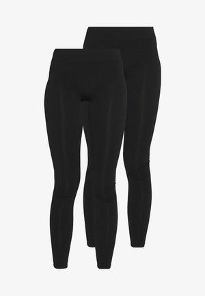 PCLONDON 2 PACK - Legging - black