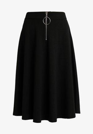 PCVICCA MIDI SKIRT TALL - Áčková sukně - black