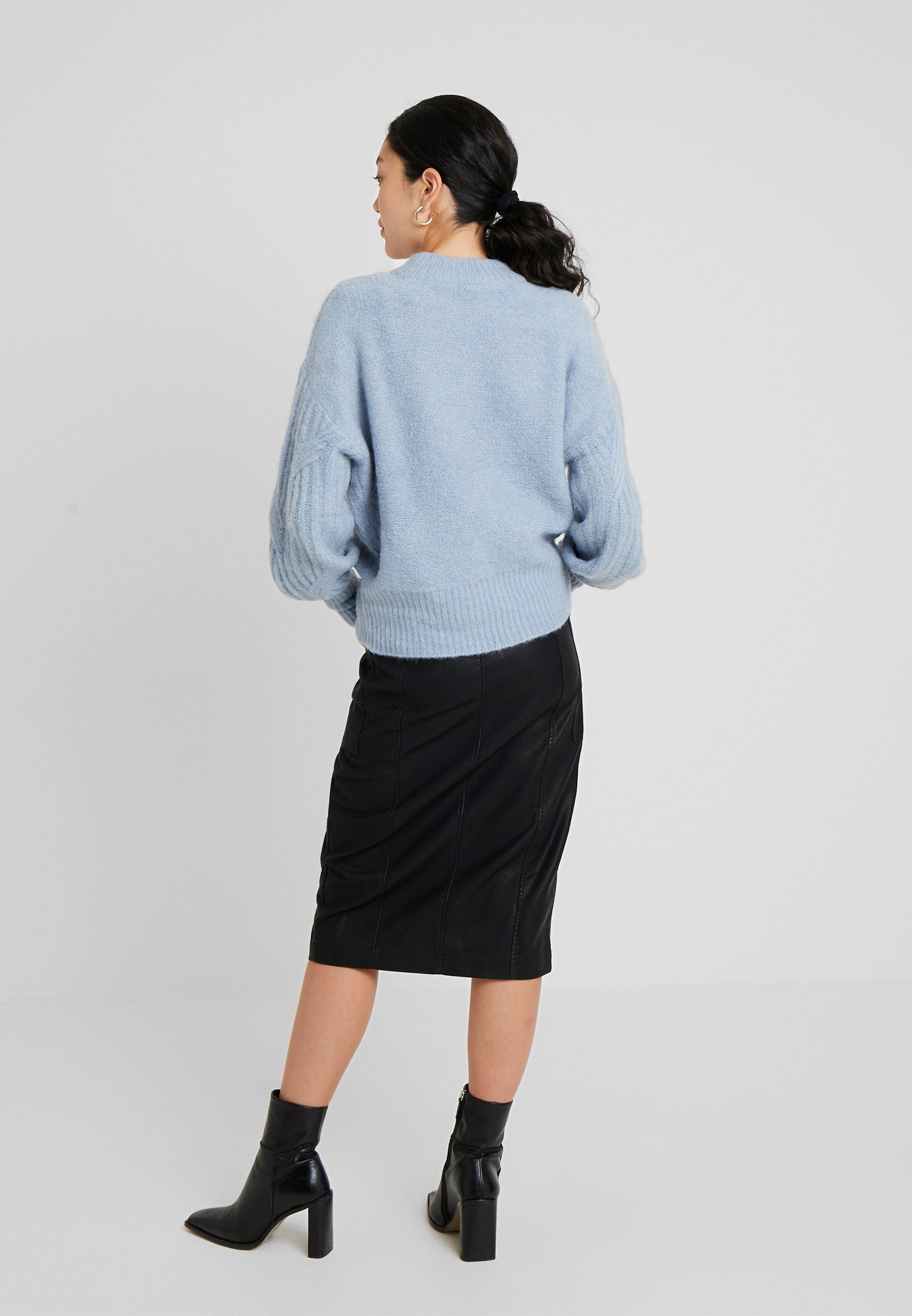 Pieces Tall Pckatia Medi Skirt - Kokerrok Black H4fzbNsg