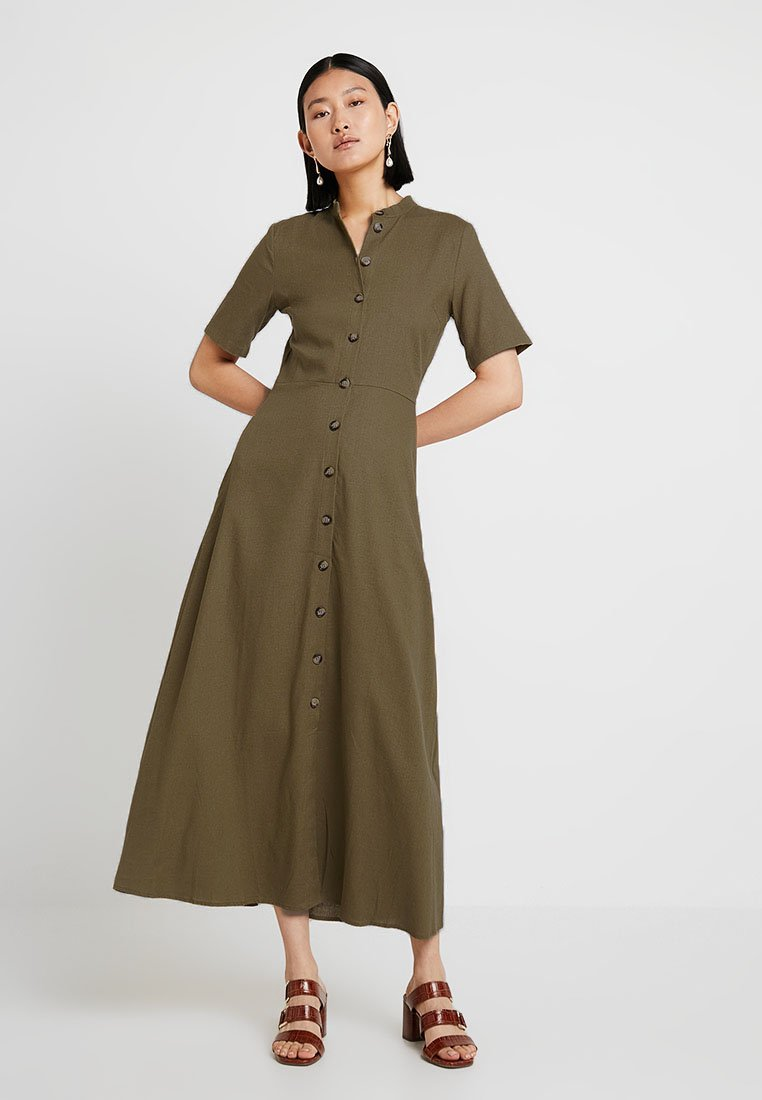 PIECES Tall - PCAODO DRESS - Skjortekjole - beech