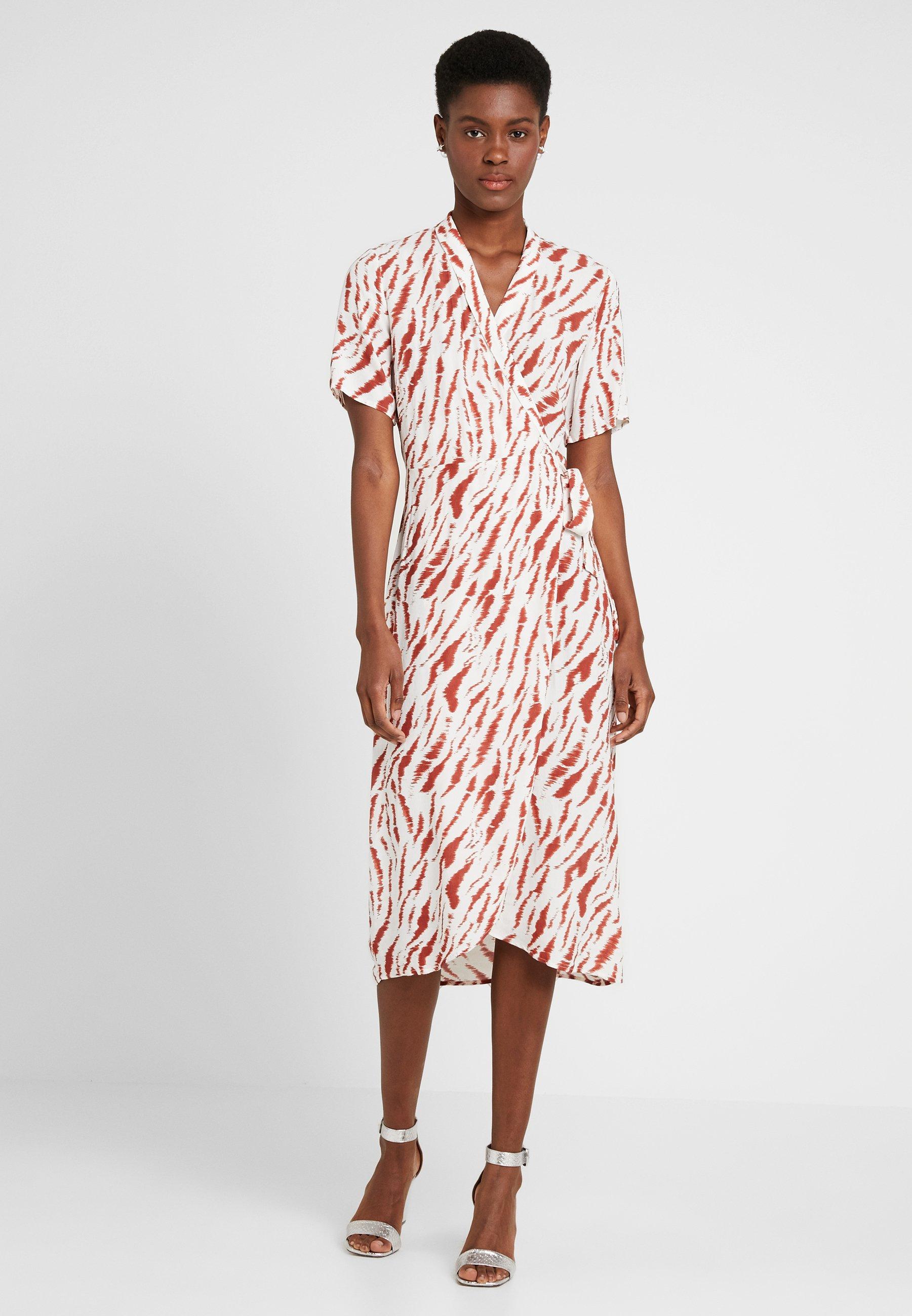 White Longue Bright Pceyva DressRobe Pieces Wrap Tall redwood QCsthrdx