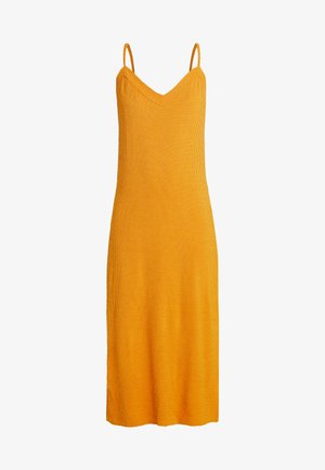 PCFREJA SLIP DRESS - Maxi-jurk - cadmium yellow
