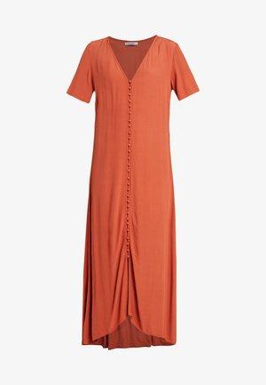 PCLAURA DRESS - Maxi dress - redwood