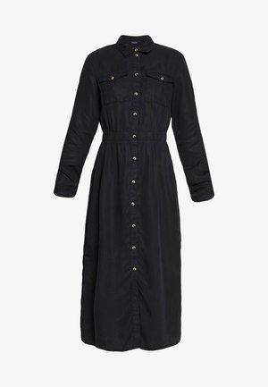 PCNOLA DRESS - Košilové šaty - black