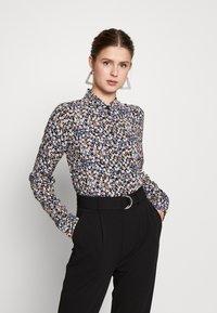 PIECES Tall - PCNOEMI - Button-down blouse - black - 0