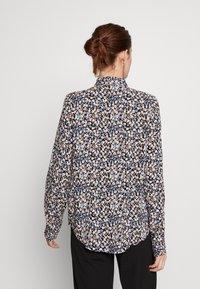 PIECES Tall - PCNOEMI - Button-down blouse - black - 2