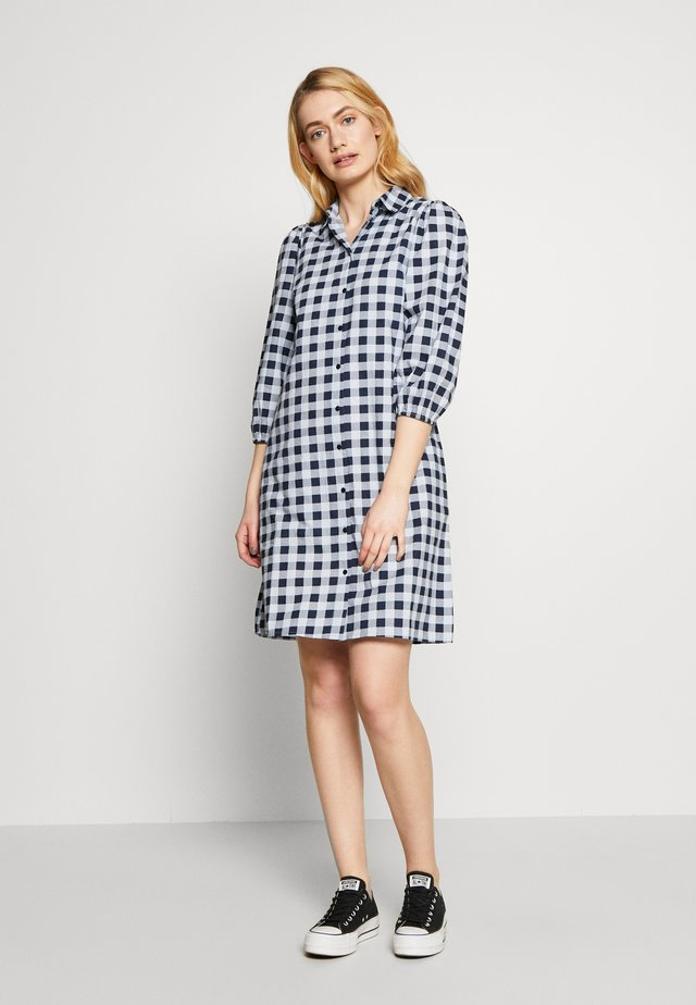 PCMALUKI SHIRT DRESS  - Shirt dress - navy blazer
