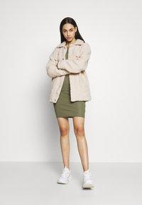 PIECES Tall - PCKAZZA TEE DRESS  2 PACK TALL - Jersey dress - light grey melange - 0