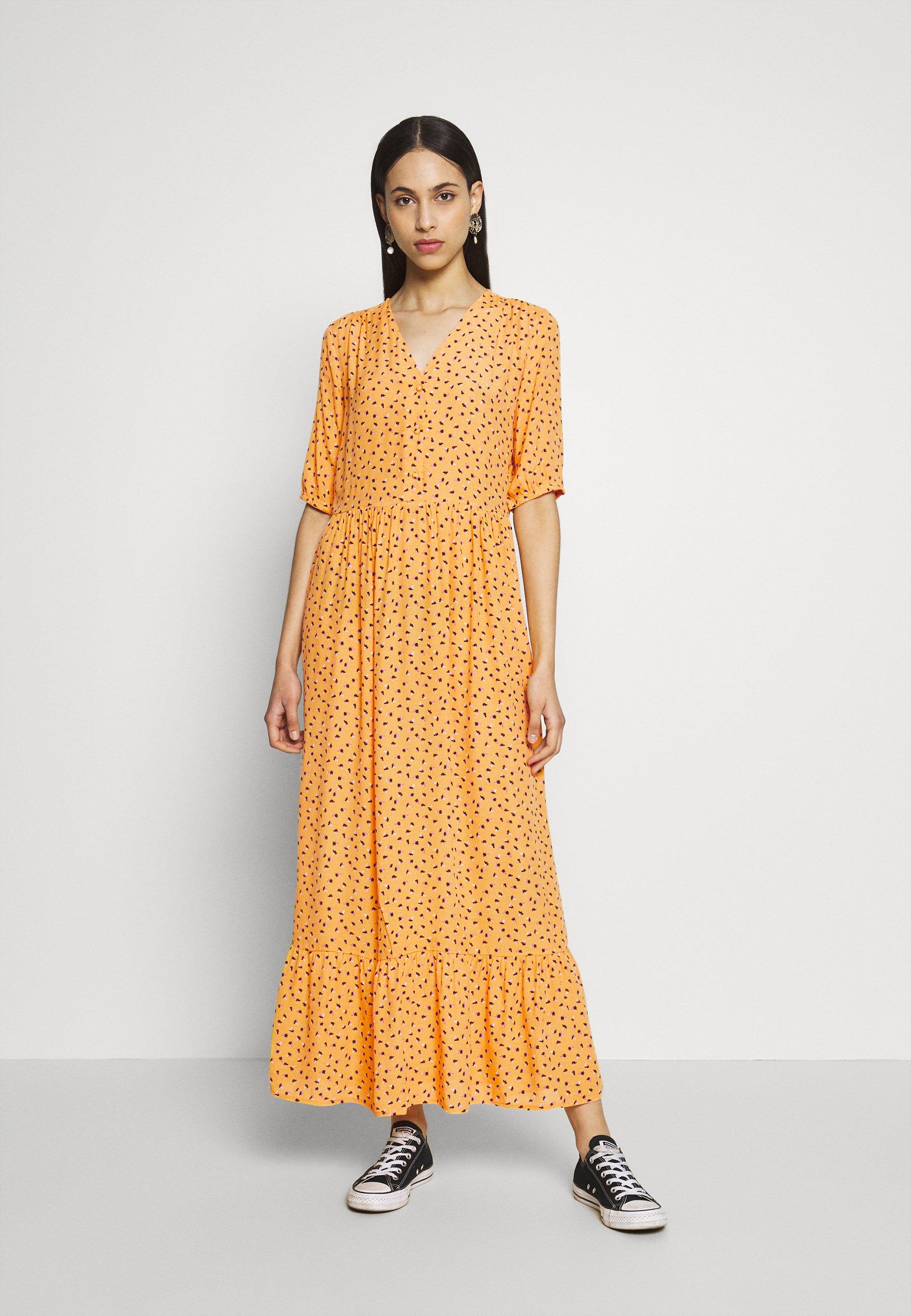 PIECES Tall PCMELINA ANKLE DRESS TALL Robe d'été chili