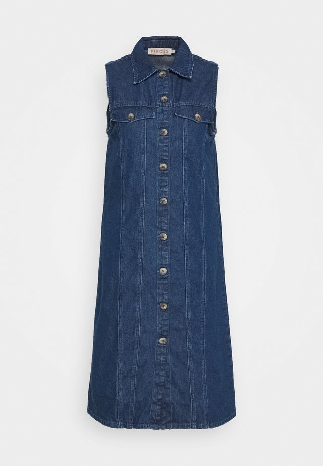 PCMALLE DRESS  - Denim dress - medium blue denim