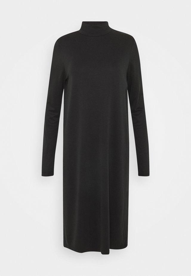 PCBAMALA TNECK DRESS - Jerseykleid - black