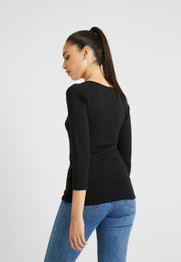 PIECES Tall - PCKARA - Langærmede T-shirts - black - 2