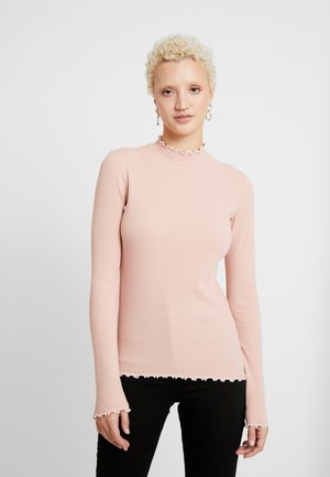 PCARDENA - Longsleeve - misty rose/white scallop