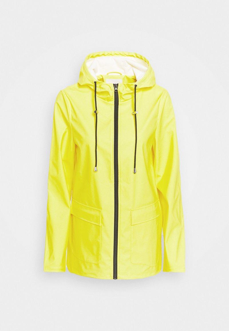 PIECES Tall - PCRARNA RAIN JACKET - Parka - empire yellow
