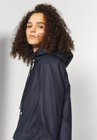 PIECES Tall - PCRARNA RAIN JACKET - Parka - night sky - 3