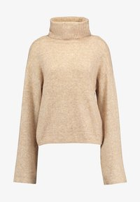 PIECES Tall - PCHONEY ROLLNECK  - Strickpullover - tannin - 4
