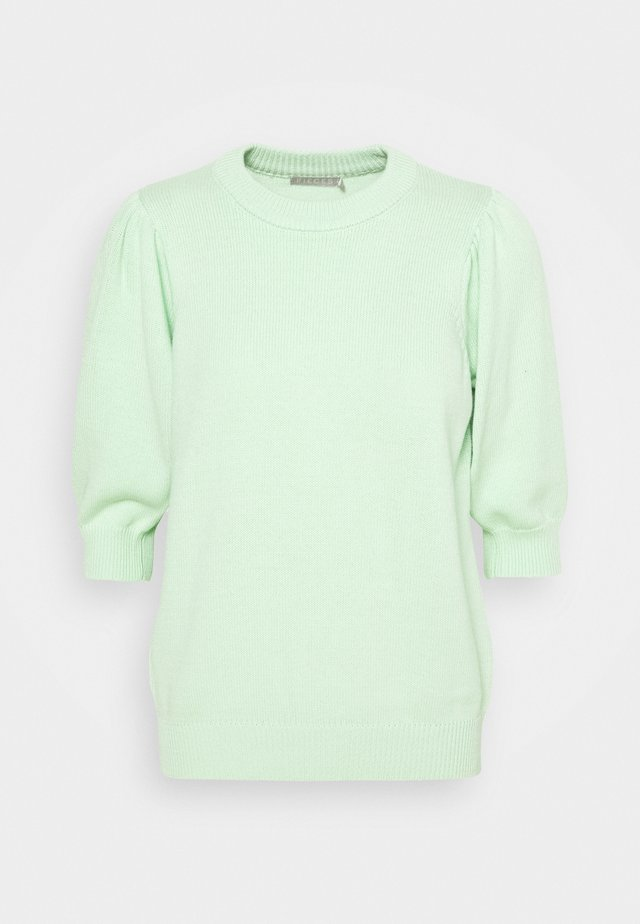 PCMASCHA O NECK TALL - Jumper - pastel green