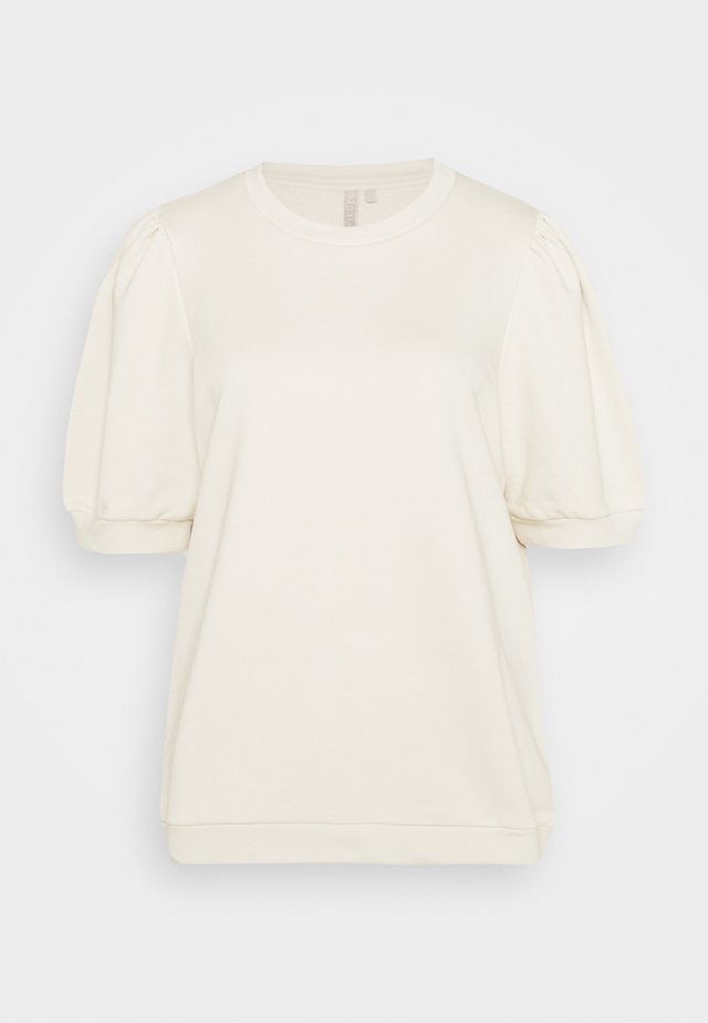 PCMESA  - T-shirts med print - whitecap gray