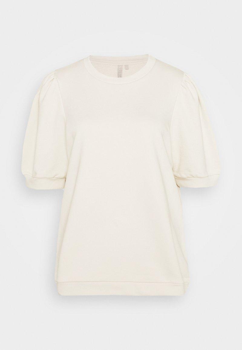 PIECES Tall - PCMESA  - Print T-shirt - whitecap gray