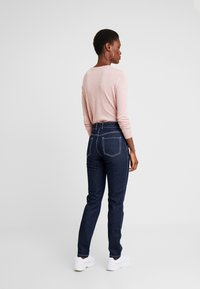 PIECES Tall - PCAURINA - Straight leg jeans - dark blue denim - 2