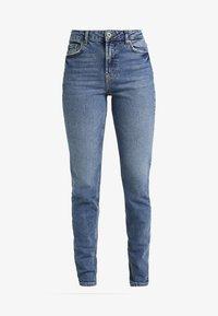 PIECES Tall - PCLEAH MOM - Jeans Skinny Fit - medium blue denim - 3