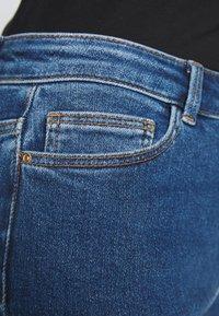 PIECES Tall - PCKAMELIA ANKLE - Jeans Skinny - medium blue denim - 5