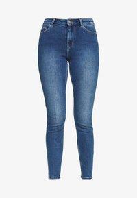 PIECES Tall - PCKAMELIA ANKLE - Jeans Skinny - medium blue denim - 4