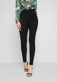 PIECES Tall - PCHIGHSKIN WEAR JEGGINGS 2 PACK - Jeans Skinny Fit - black - 1