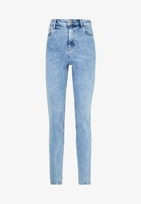 PIECES Tall - PCKESIA MOM  - Džíny Slim Fit - light blue denim - 3