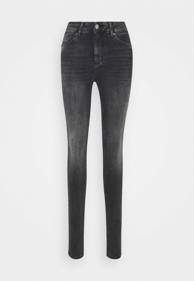 PCDELLY - Jeans Skinny Fit - dark grey