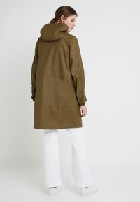 PIECES Tall - PCBOBBI RAINCOAT - Parka - beech - 2