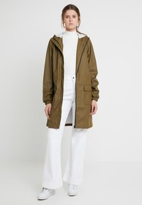 PIECES Tall - PCBOBBI RAINCOAT - Parka - beech - 1