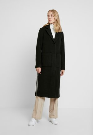 PCHELYN STRIPE COAT - Classic coat - forest night